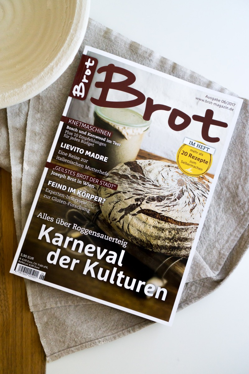 das neue brot magazin ber richtiges brot backen the gourmet apron. Black Bedroom Furniture Sets. Home Design Ideas